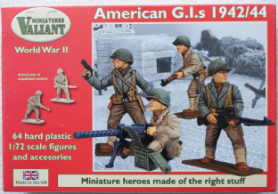 Valiant Miniatures 20mm 003 US Infantry 1942-44 (WW2)